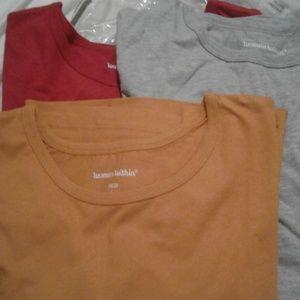 3 pack ladies long sleeve shirts